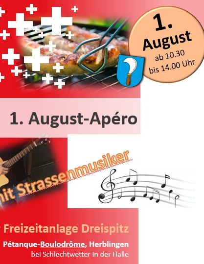 1. August Anlass Website